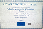 Authorized Testing Center